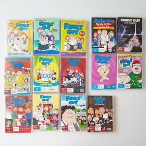 Family Guy Season 1-10 DVD Complete Set and movies bundle lot 4 Special Editions