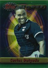 """'CARLOS DELGADO"""" - (20) 1994 TOPPS FINEST JUMBO CARDS - AUCTION FOR 20 CARDS"""