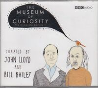 The Museum Of Curiosity Complete Gallery 1 3CD Audio John Lloyd Bill Bailey