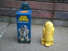 STAR WARS - R2D2 SOAP MODEL MADE IN 1977  -CLIRO - GREAT CONDITION - ARTOO DETOO