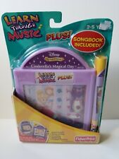 Fisher Price Learn Through Music Plus Disney Cinderella's Magical Day Cartridge