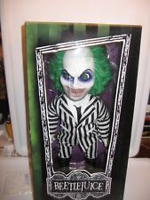 BEETLEJUICE Mezco Toyz LARGE 15in Figure Doll Iconic Tim Burton Michael Keaton