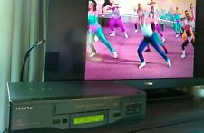 TESTED WORKING! HITACHI VCR VHS Player VT-FX621A with Remote!