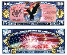 OUR INDEPENDENCE DAY DOLLAR BILL (2 Bills)