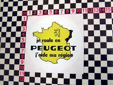Autocollant PEUGEOT français - 104 203 204 cabriolet 504 404 205 GTI