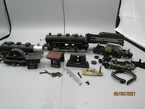 HO Scale locomotive-tyco chattanooga and misc parts for repair