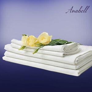 Bettlaken Betttücher Leintuch Spannbetttuch ohne Gummizug Baumwole ohne Gummizug