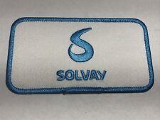 Solvay USA Chemistry Company Chemical Technology Princeton NJ Logo Blue Patch G