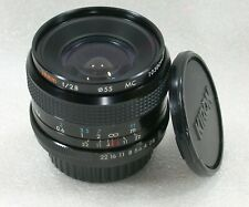 Kiron 28mm F2.8 Manual Focus Wide Angle Lens, Pentax PK Fit Mount, No. 10300940