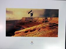 SNOWBOARD - Half Pipe  SLC 2002 Olympic Poster Sports