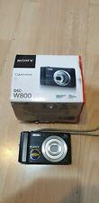Sony Cyber-shot DSC-W800 20.1MP Compact Digital Camera Black 5x Zoom 720p BOXED!