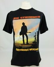Joe Strummer 1989 Earthquake Weather Vintage Bande Musique Album Tour T-Shirt