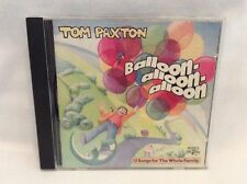 TOM PAXTON - Balloon Alloon Alloon - CD - 12 Songs For The Whole Family! H23