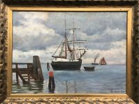 Gottfried from Hoven 1868 - 1921 Ekensund - Sailor at the Flensburg Förde