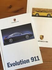 1997 Porsche 911 (996 Series) hard cover brochure