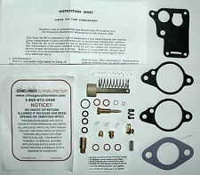 1937 52 DELUXE CARB KIT WILLYS OVERLAND CARTER 1BARREL WO MODEL PASS & MILITARY