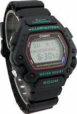 Casio Men's 200 Meter WR Chronograph Watch, Alarm, Resin Strap, DW290-1V