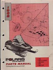 1988 POLARIS 400, 400 CLASSIC, 400 SKS, 650, 650 SKS  PARTS MANUAL (223)