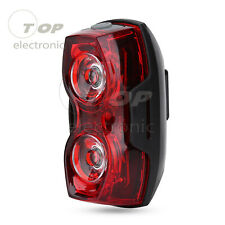 2LED Bright Cycling Bicycle Bike Safe Rear Tail Flashing Light Warning Lamp