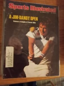 Jim Connors wins US Open - Sports Illustrated - 9/20/1976  tennis