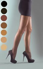 Silky Super Shine Sheer Tights Available in XL & 3 Colours Plus Size Pantyhose Large Sherry