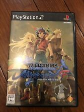 PS2 WILD ARMS Alter code: F Sony PlayStation2 Video Game Import JAPAN SCPS-17002