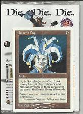 MTG Oversize Jesters Cap in Duelist August 1997 #18 Volume 4 Issue 4