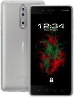 Hülle Transparent für Nokia 8 - Crystal Clear Schutzhülle Cover Case Handyhülle