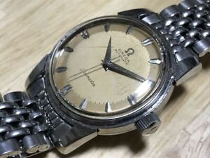 Omega Seamaster Vintage Cal.501 Used Automatic Mens Watch Authentic Working