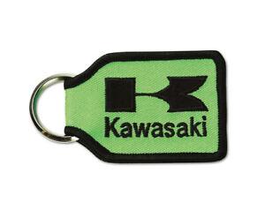 Kawasaki Woven Keychain Key Fob Green K066-8914-GNNS
