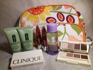 Clinique 7 Day Scrub Cream Rinse, Eye Shadow Quad, Chubby Stick Lip Colour Balm
