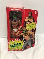 Mattel 1975 Big Jim Zorak The Enemy Vintage Action Figure W Box