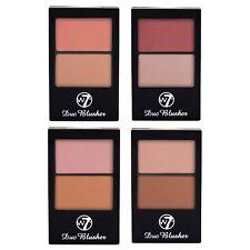 W7 Duo Blusher Blush, Pressed Powder Compact Palette Kit Set