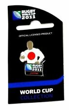 33638 JAPAN RUGBY WORLD CUP 2011 JERSEY FLAG PIN BADGE COLLECTABLE