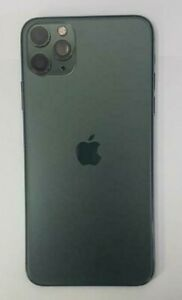 Genuine Apple iPhone 11 Pro MAX Back Chassis Cover Housing Parts Midnight Green