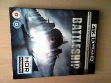Battleship (4K UHD BLU RAY AND DIGITAL DOWNLOAD) NEW SEALED WITH SLIPCASE