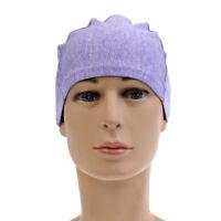 Skull Cap Helmet Liner Run Beanie Moisture Wicking Cycling Cap Light Purple
