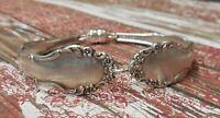Flirtation - 1959 Vintage Silver Plated Silverware/Flatware Spoon Bracelet