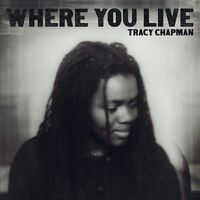 Where You Live - Chapman, Tracy CD Sealed ! New !