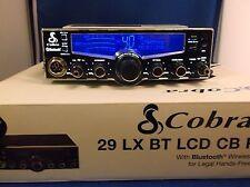 COBRA 29 LXBT LX BT BLUETOOTH WIRELESS CB RADIO PRO TUNED, UPGRADED MOSFET FINAL