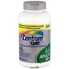 Centrum Silver MultiVitamin MultiMineral Complete Vitamin 285 Tabs Adults > 50