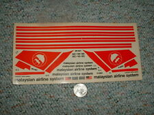 Mach 1 decals 1/144  Malaysian Airline System DC-10-30   F40