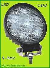 Arbeitsscheinwerfer 12V 24V 18W LED 920lm Scheinwerfer Licht Lampe ATV Kfz Lkw