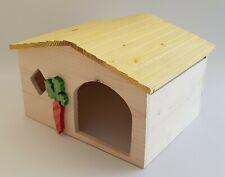 Wooden Ferret Rabbit House Rodent Bed Hamster Degu Guinea Pig Chinchilla Nest