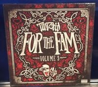 Twiztid - For the Fam vol. 3 CD SEALED alla xul elu psychopathic rydas boondox