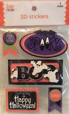 New listing New Love Nicole X-Large 3D Stickers Halloween - Scrapbooking - Crafts