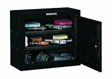 Gun Cabinet Pistol Ammo Vault Handgun Storage Safe Stack On Gunvault Steel Safes