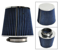 88-01 ACURA INTEGRA 88-12 HONDA CIVIC BLUE COLOR 3 INCHES INCH INLET AIR FILTER