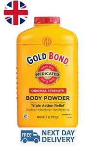 Gold Bond Medicated Body Powder Cooling Absorbing Itch Relieving 286g