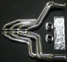 FORD MUSTANG 64-70  LHD 260/289/302/351 STAINLESS HEADERS POLISHED 4 TO 1 {117)